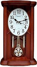 LGQ-JJU Tabletop Mantelpiece Pendulum Clock,