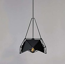 LGQ Novely Chandeliers-Iron Art Hanging Lamp E27