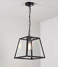 LGQ Novely Chandeliers- Iron Square Pendant Lamp
