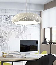 LGQ Novely Chandeliers- Round Pendant Lamps Iron