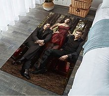 LGXINGLIyidian Carpet Rug The Vampire Diaries 3D