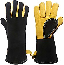 LHE BBQ Gloves,16 Inches Extreme Heat & Fire