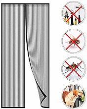LHF Magnetic Screen Door Super Strong Fly Mesh