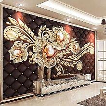 LHGBGBLN 3D self-Adhesive Wallpaper Black Gemstone