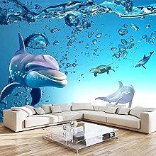 LHGBGBLN 3D self-Adhesive Wallpaper Blue Ocean