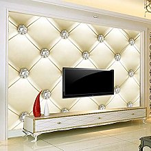 LHGBGBLN 3D self-Adhesive Wallpaper Diamond Soft