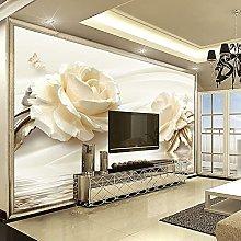 LHGBGBLN 3D self-Adhesive Wallpaper Flower