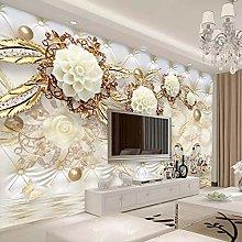 LHGBGBLN 3D self-Adhesive Wallpaper Golden Circle