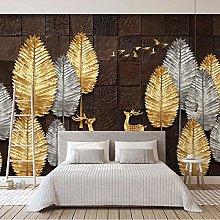 LHGBGBLN 3D self-Adhesive Wallpaper Wood Grain