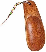 LHHA Great Handhold Walnut Wood Shoe Horn Wooden