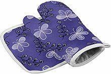 LHM Oven Gloves Oven Mitts BBQ Gloves Heat
