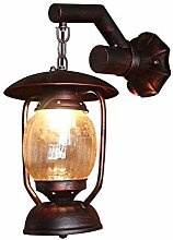 LHTCZZB Wall Lamp Vintage E27 Waterproof with