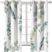 LHUTY Blackout curtain for kids bedroom Plants 2x