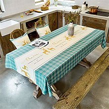 LHXDZC Tablecloth,Table Cover,Waterproof table