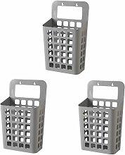 LHY BATHLEADER Laundry Baskets Wall Mounted