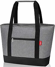 LHZK Jumbo Insulated Cooler Bag, Reusable Grocery