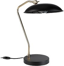 Liam Black desk lamp