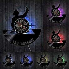 Lianaic wall clock DJ Wall Clock for Wall Art
