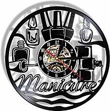 Lianaic wall clock Manicure Wall Clock Trendy