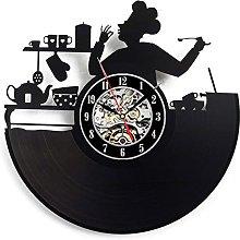 Lianaic wall clock Vinyl Wall Clock Modern Design