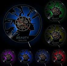 Lianaic wall clock Wall clock for Beauty salon