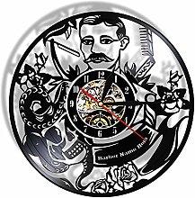 Lianaic wall clock Wall clock for Salon barber