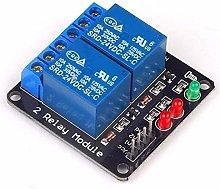 LIANGANAN 2 Way 24V Lighting Relay Module Wood