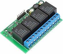 LIANGANAN Relay Module - 4 Channels Flip-Flop Low