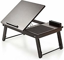 LiangDa Computer Bed Table Bed Study Desk Foldable