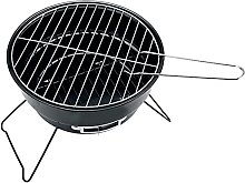 LIANGLI Charcoal Grill, Stainless Steel Portable