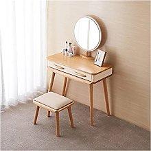 liangzishop Vanity Set Vanity Desk with 2 Drawers