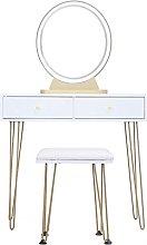 liangzishop Vanity Set White Dressing Table