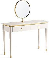 liangzishop Vanity Set White Vanity Desk with 2