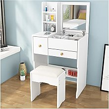 liangzishop Vanity Set White Vanity Desk with