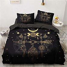 LIANHUAA 3D Dream Catcher Duvet Cover Bedding