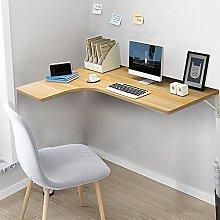 LIANWANG Corner Folding Computer Table,Convertible