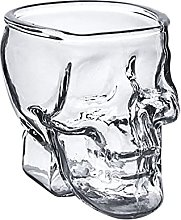 LIAZNGNA Glass cup Skull Cup Shot Glass