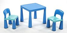 Liberty House Toys - Blue Table & Chairs Set