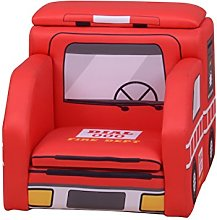 Liberty House Toys Children's Fire Engine Sofa