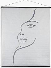 Libra Figurative Hanging Print, 170 x 140cm,