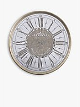 Libra Vienna Roman Numerals Round Mirror Wall