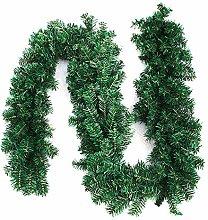 Librao 270cm Christmas Green Garlands Decorations