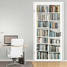 Library Door Wall Sticker East Urban Home