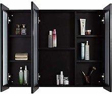 LiChaoWen Bath Mirror Cabinet Aluminum Medicine