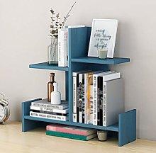 LiChaoWen Desktop Bookshelf Desk Bookshelf Storage