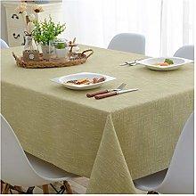 LICHUN Tablecloth Cotton Linen Tablecloths
