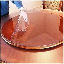 LICHUN Tablecloth Round PVC Tables Cover Floor
