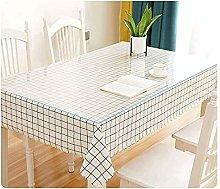 LICHUN Waterproof Tablecloth Transparent Chair Mat