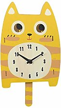 LICHUXIN Children's Cartoon Wall Clock,