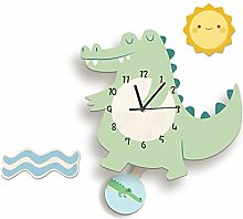 LICHUXIN Creative Cartoon Wall Clock, Cute